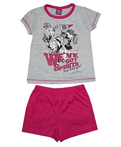 Girls Monster High Short Pajamas Age 6 to 12 Years