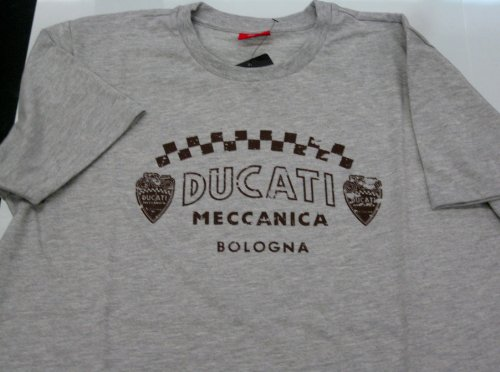 Ducati Mens Vintage Meccanica Graphic T-Shirt Size Large