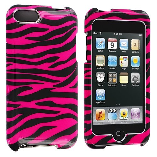 Black / Hot Pink Zebra Design