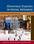 Elementary Statistics in Social Resea...