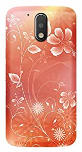 Wow Premium Design Back Cover Case For Motorola Moto G 4th Gen