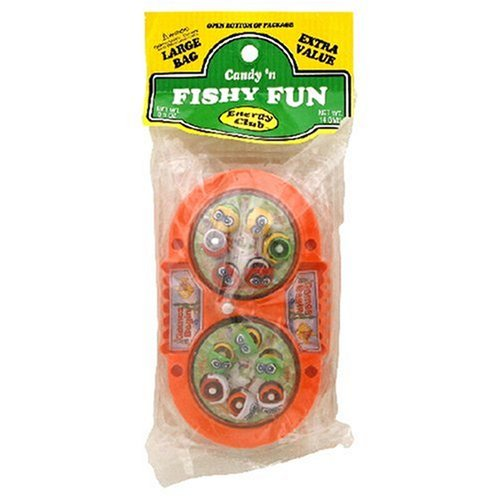 Buy Energy Club Candy 'n Fishy Fun, 0.5-Ounce Bags (Pack of 12) (Energy Club, Health & Personal Care, Products, Food & Snacks, Snacks Cookies & Candy, Candy)