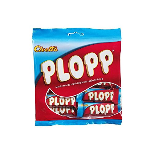 Cloetta Plopp - Milk Chocolate Bites with Soft Toffee Filling (158g)