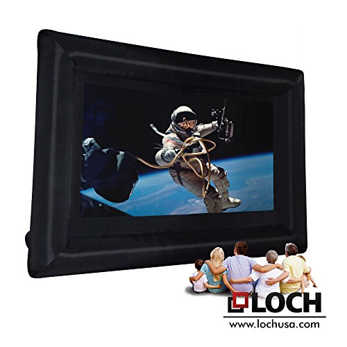 LOCH 200″ diagonal 16:9 Inflatable Projection Screen – Outdoor Movies Cinema