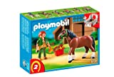 Playmobil 5108 Shire Horse with Stall
