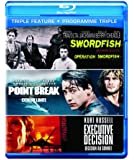 Executive Decision / Point Break / Swordfish [Blu-ray] (Bilingual)