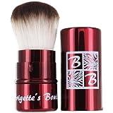 Brigettes Boutique Signature Retractable Kabuki Brush In Crimson Red