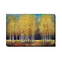 Golden Grove by Melissa Graves-Brown Premium Oversize Gallery-Wrapped Canvas Giclee Art (Ready to Hang)