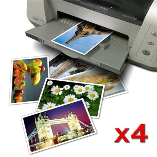 eForCity 80 Pcs Glossy Photo Paper - 4