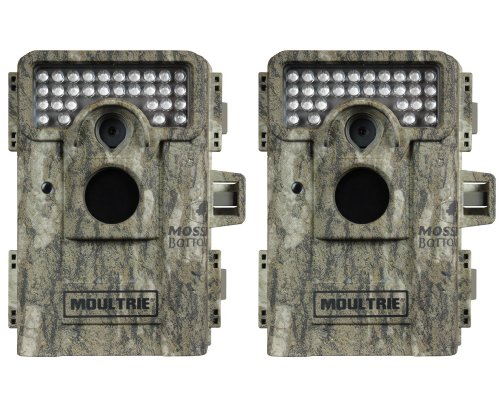 Buy (2) MOULTRIE Game Spy M-880 Low Glow Infrared Digital Trail Game Cameras | 8 MP