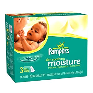 Amazon Com Pampers Baby Wipes Refills Skin Soothing