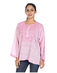 Rajrang Indian CasuaL Wear Womens Clothing Top Cotton Kurta Blouse