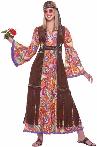 Forum Novelties Inc - Hippie Love Child Adult Costume