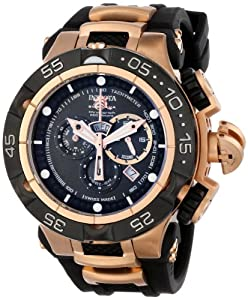 Invicta Men's INVICTA-12888 Subaqua Analog Display Swiss Quartz Black Watch