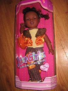 Just Girlz Celebrating Cultural Diversity Doll Fully Posable