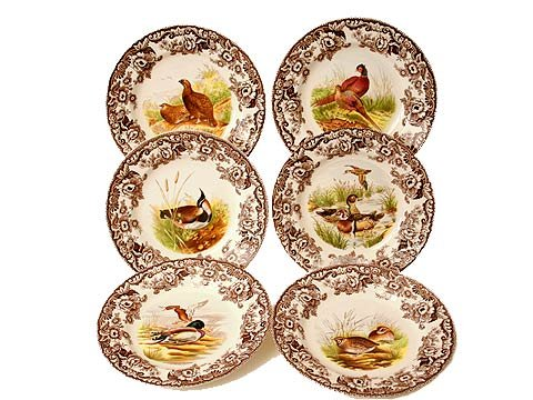 Buy Spode Woodland Set of 6 Salad Plates