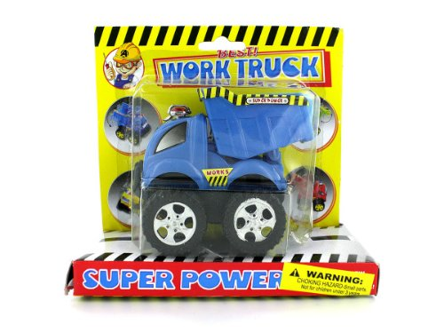 Friction Powered Construction Trucks (Case Of 24) front-1074399