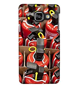 Print Haat Back Case for Samsung Galaxy A7 2016 (Multi-Color)