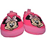 Disney Minnie Mouse Baby Infant Slippers Shoes 3-6 Months