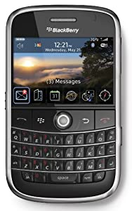 BlackBerry 9000 Bold Sim Free Mobile Phone - Black
