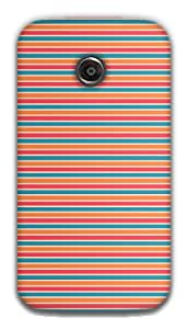 The Racoon Lean Candy Wrapper hard plastic printed back case / cover for Moto E