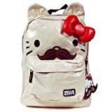 Hello Kitty SANBK0053 Backpack,White/Red/Black/Brown,One Size