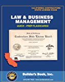 img - for Law & Business Management Quick-Prep Flashcards for California Contractors State License Exam book / textbook / text book