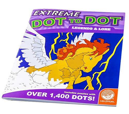 MindWare Extreme Dot to Dots Legends and Lore - 1