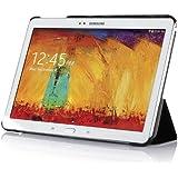 IVSO Slim Smart Cover Housse pour Samsung Galaxy Tab Pro 10.1 Tablette avec Auto Endormir/Réveiller Fonction (Noir)