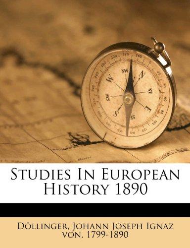 Studies In European History 1890