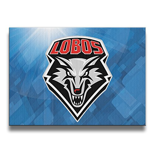 PHOEB Indoor Decorations - New Mexico Lobos Football 3 Frameless Picture Frame For 16x20 Inch Photo - Displays Prints, Posters,