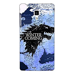 Jugaaduu Game Of Thrones GOT House Stark Back Cover Case For Redmi 1S