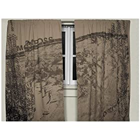 Smooth Smooth Industries Mx Curtains - Brown 1911-105