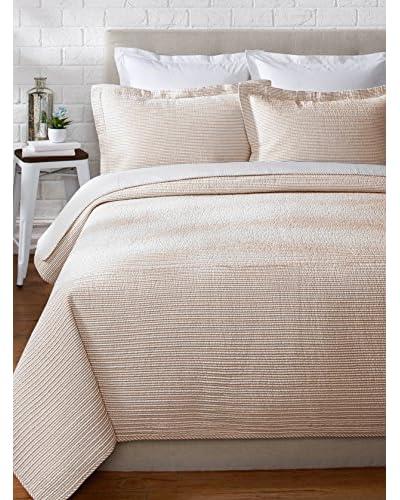 Eileen West Seersucker Stripe Quilt Set