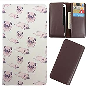 DooDa - For LG L90 PU Leather Designer Fashionable Fancy Case Cover Pouch With Card & Cash Slots & Smooth Inner Velvet
