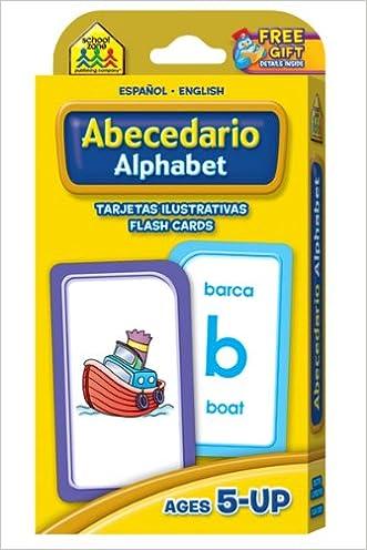 Alphabet Flash Cards - Bilingual (Spanish Edition) written by School Zone Publishing Company Staff