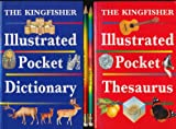 img - for The Kingfisher Illustrated Pocket Dictionary and Thesaurus (Gift Set) book / textbook / text book