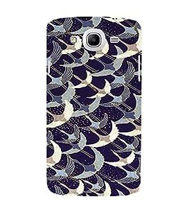 PrintVisa Bird Pattern 3D Hard Polycarbonate Designer Back Case Cover for Samsung Galaxy Mega 5.8