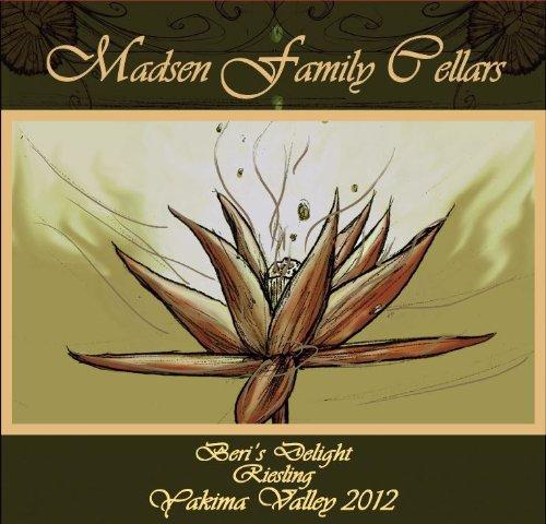 """2012 Madsen Family Cellars """"Beri'S Delight"""" Rattlesnake Hills Sweet Riesling 750 Ml"""