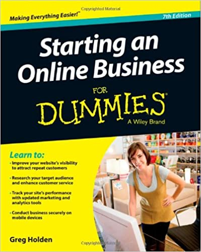 Starting your own online business for dummies