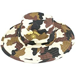 Baby BanZ UV Reversible Bucket Hat, Brown Camo, 0-24 Months