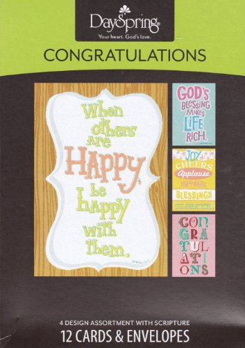 Dayspring Congratulations Boxed Cards