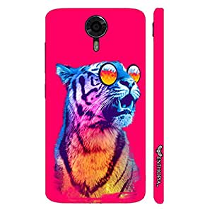 Micromax Canvas Xpress 2 1980's Tiger designer mobile hard shell case by Enthopia
