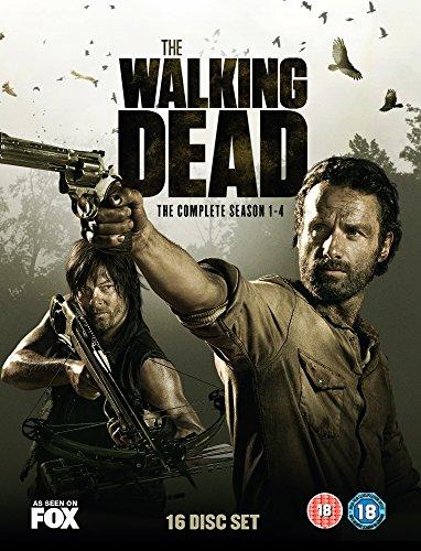 The Walking Dead - Season 1-4 [DVD]