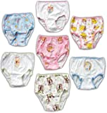 Disney Princess Toddler Girl's 7 Pair Panty Pack - Size 2t/3t