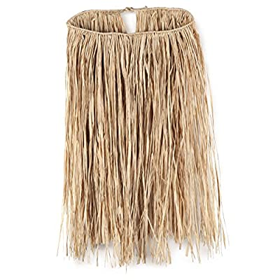 Beistle 50433-G 36 by 28-Inch Raffia Hula Skirt