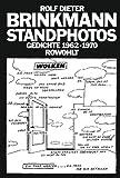 Standphotos: Gedichte 1962-1970