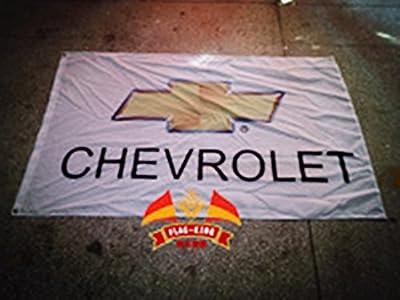 Chevrolet flag white Chevrolet car brand flag Auto marketing banner Chevrolet banner--polyster flags,Brass Grommets,Anti-UV,Digital Printing---car flags 3X5 ft
