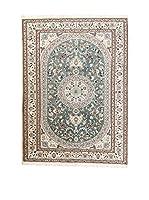 Navaei & Co. Alfombra Persian Nain Extra 9 Lah Verde/Multicolor 232 x 153 cm