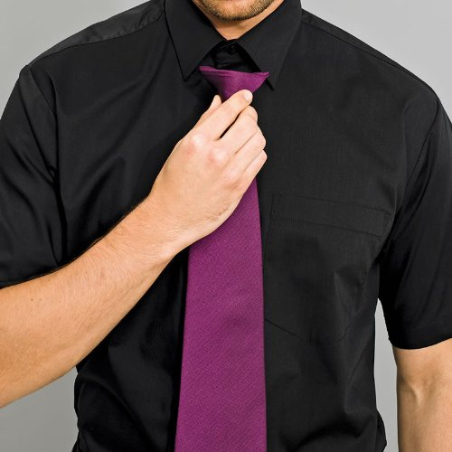 Mens Premier Clip On Off Shirt Tie - Choose From 24 Colours